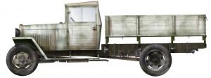 Side views 35134 GAZ-MM Mod.1943 货运卡车