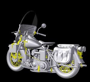 3D renders 35085 U.S. MILITARY POLICE