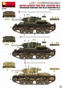 Content box 35106 瓦伦丁V Mk.3 英国步兵坦克