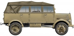Side views 35147 L1500A (Kfz.70) DEUTSCHE PERSONALAUTO