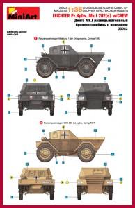 Content box 35082 莱希特尔装甲侦察车 MkI 202(e)带士兵