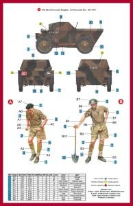 Content box 35087 英国侦察车野狗 MK.1带士兵