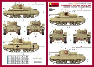 Content box 35096 瓦伦丁II Mk.3 英国步兵坦克