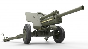 3D renders 35104 7.62cm FK 39(r) GERMAN FIELD GUN