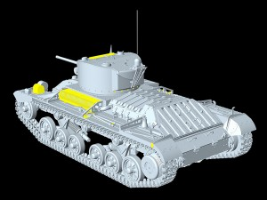 3D renders 35123 VALENTINE Mk. VI CANADIAN – BUILT EARLY PROD.