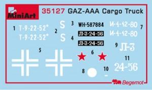 Content box 35127 GAZ-AAA CARGO TRUCK