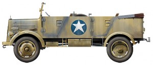 Side views 35139 Kfz.70 MB 1500A GERMAN 4×4 CAR w/CREW