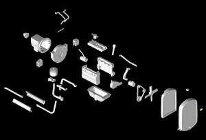 3D renders 35124 GAZ-AAAカ-ゴトラック フィギュア2体付