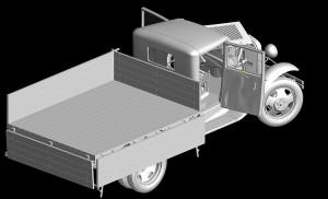 3D renders 35124 ГРУЗОВОЙ АВТОМОБИЛЬ ГАЗ-АА «Полуторка»