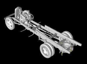 3D renders 35124 GAZ-AA CARGO TRUCK 1.5t TRUCK
