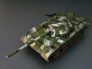 Photos 37011 T-54B SOVIET MEDIUM TANK. EARLY PRODUCTION. INTERIOR KIT