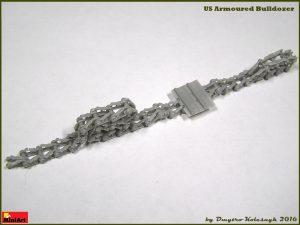 Build up 35188 U.S. GEPANZERTE PLANIERRAUPE