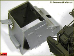 Build up 35188 U.S. ARMOURED BULLDOZER