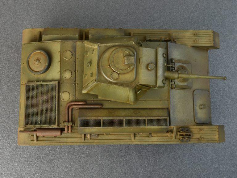 35194 СОВЕТСКИЙ ЛЕГКИЙ ТАНК T-70M C ЭКИПАЖЕМ. СПЕЦИАЛЬНАЯ СЕРИЯ