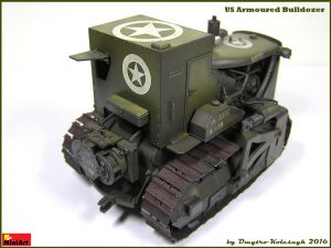 Build up 35188 U.S. ARMOURED BULLDOZER