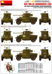 Content box 35159 AEC Mk.III ARMOURED CAR