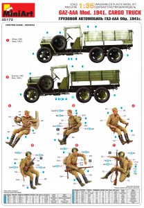Content box 35173 GAZ-AAA Mod. 1941. SOVIET  CARGO TRUCK