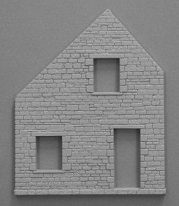 Content box 36018 FARMHOUSE w/DIORAMA BASE