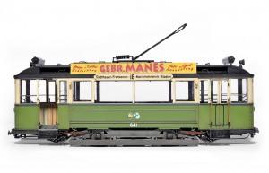 Photos 38003 GERMAN TRAMCAR 641 (Straßenbahn Triebwagen 641)