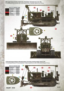 Content box 35184 U.S. ARMY TRACTOR w/ANGLED DOZER BLADE