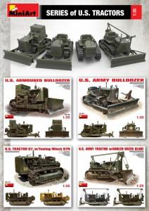 Content box 35195 U.S. ARMY BULLDOZER