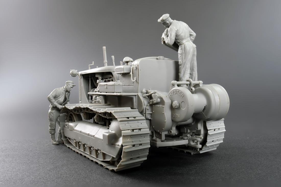 35225 曳航ウインチ&乗組員特別編とアメリカのトラクター