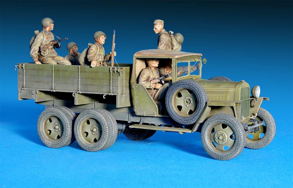 35173 GAZ-AAA Mod. 1941. SOVIET  CARGO TRUCK