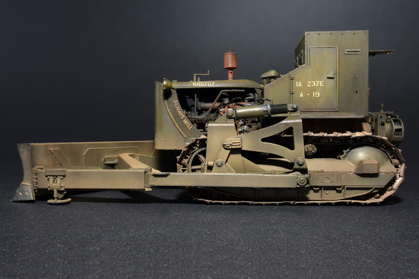 35188 U.S. ARMOURED BULLDOZER
