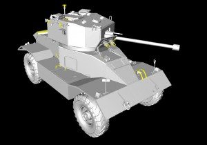 3D renders 35155 AEC Mk.II ARMOURED CAR