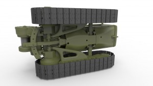 3D renders 35174 U.S. TRACTOR D7 w/Towing Winch D7N