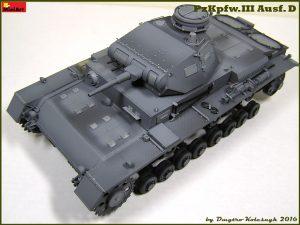 Build up 35169 Средний танк Pz.III Ausf D