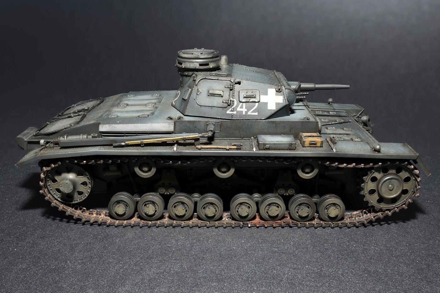 35169 Средний танк Pz.III Ausf D