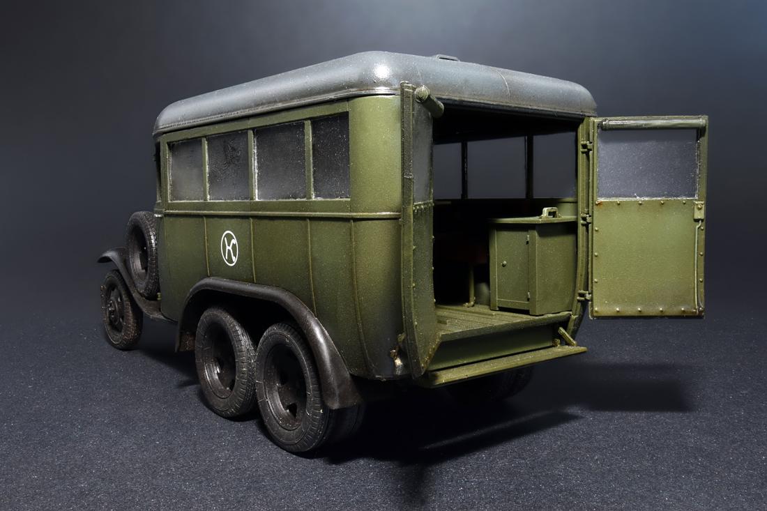 35156 GAZ-05-193スタッフバス
