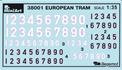Content box 38001 EUROPEAN TRAM