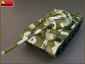 Build up 37011 T-54B SOWJET MEDIUM TANK. FRÜHERE PRODUKTION INNENKIT