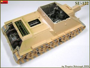 Build up 35175 SU-122 INITIAL PRODUCTION.  INTERIOR KIT