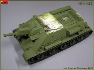 Build up 35175 SU-122 anfängliche Produktion, Bausatz mit Innenausstattung