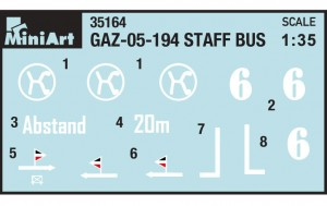 Content box 35156 GAZ-05-193 STAFF BUS