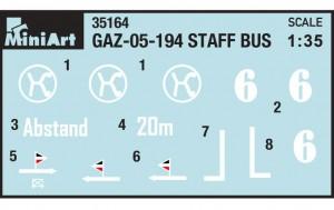 Content box 35156 GAZ-05-193 STAFF BUS