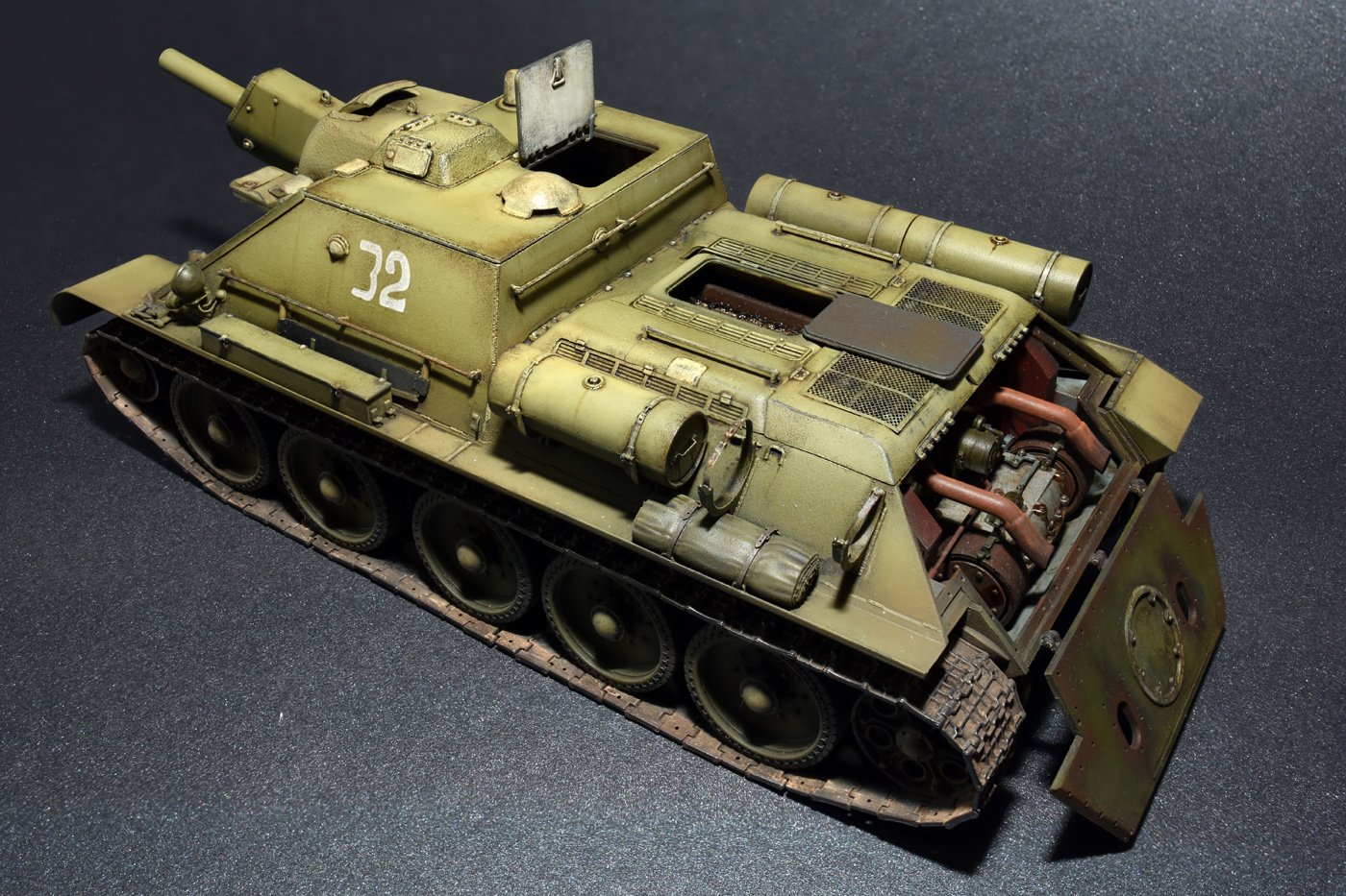 35175 SU-122 INITIAL PRODUCTION.  INTERIOR KIT