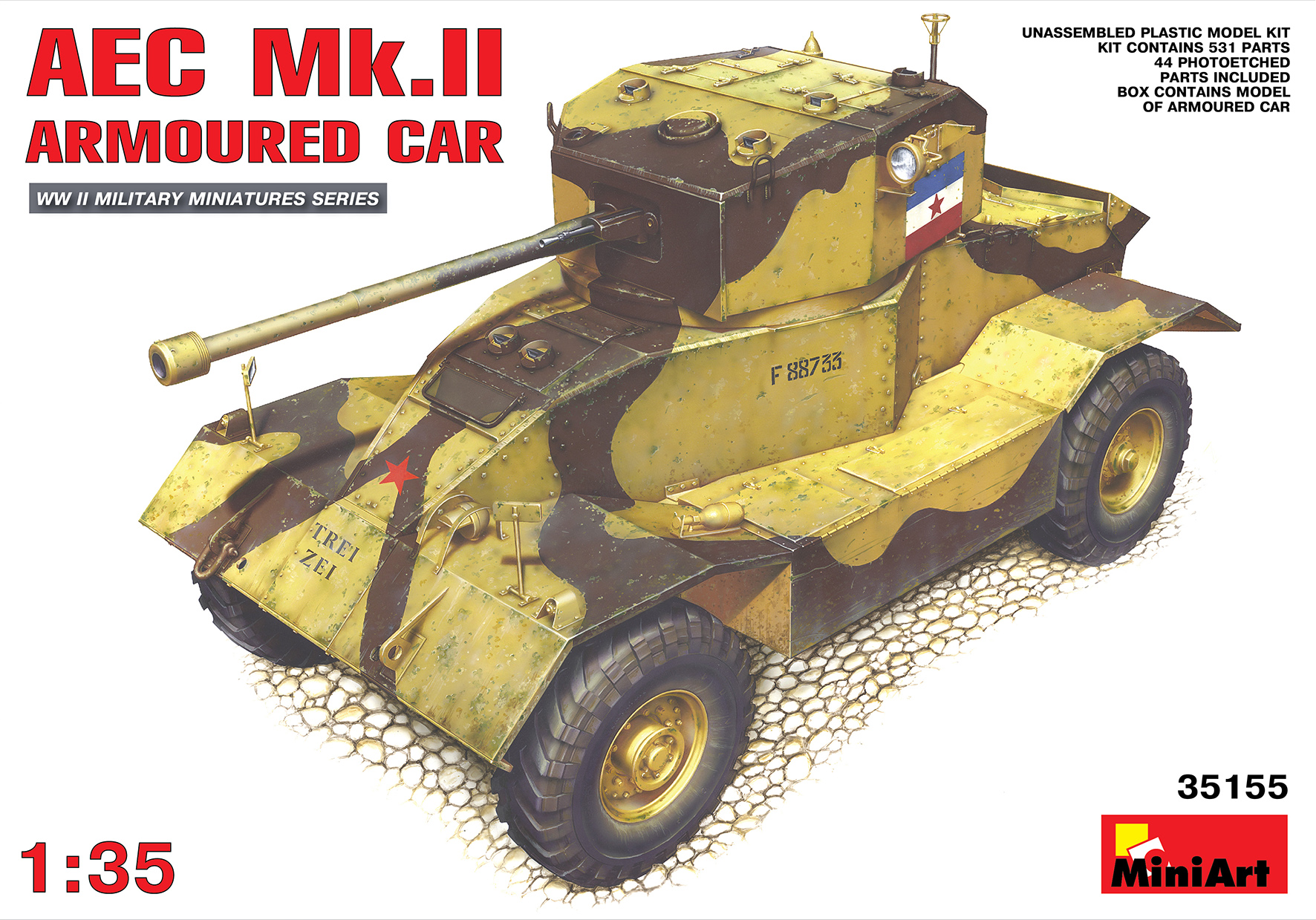 35155 AEC Mk.II ARMOURED CAR