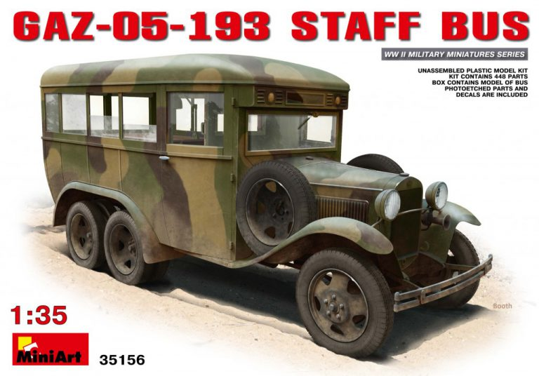 35156 GAZ-05-193 STAFF BUS