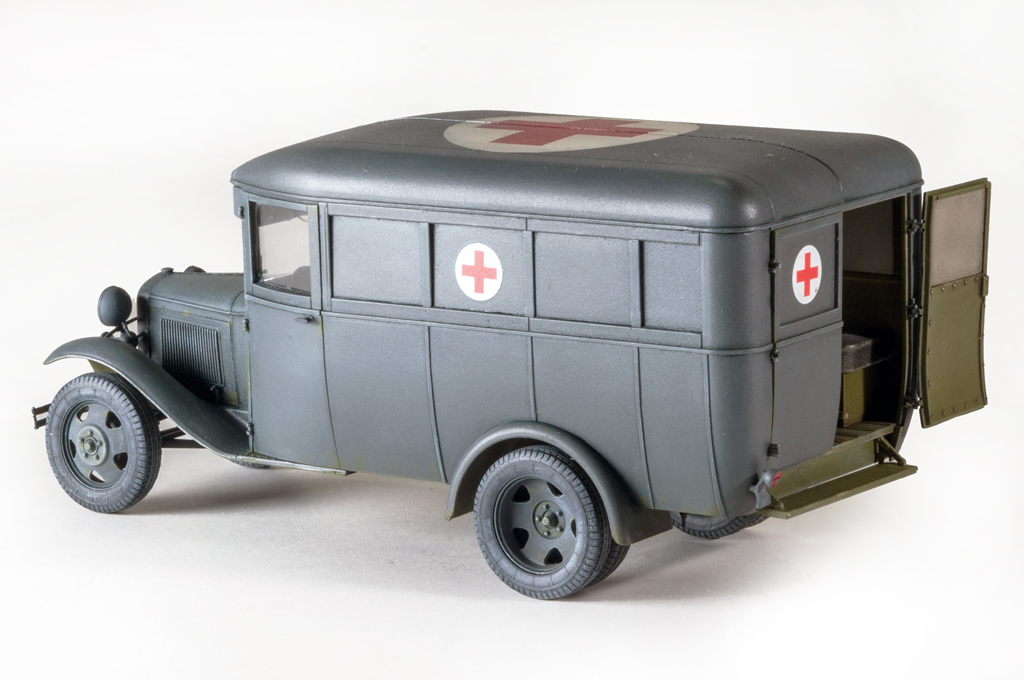 35160 GAZ-03-30 AMBULANCE
