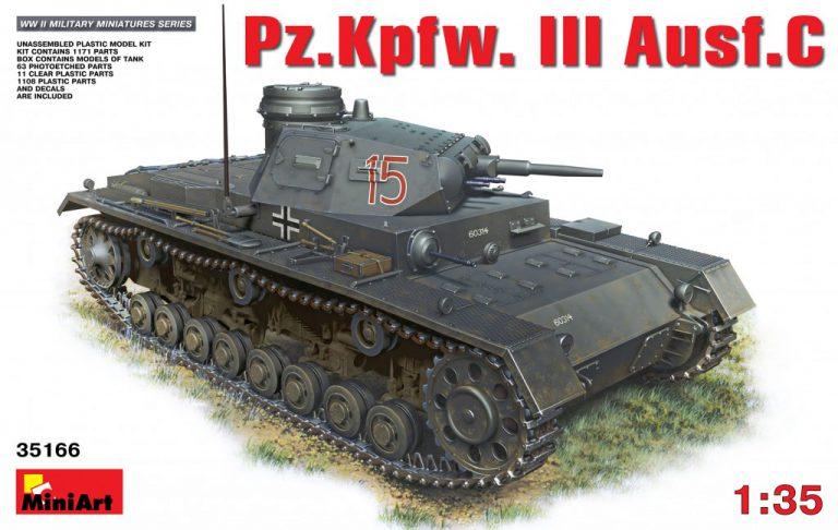 35166 Pz.Kpfw.III Ausf.С (ミディアムタンク)