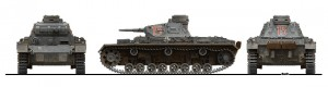 Side views 35166 Pz.Kpfw.III Ausf.С