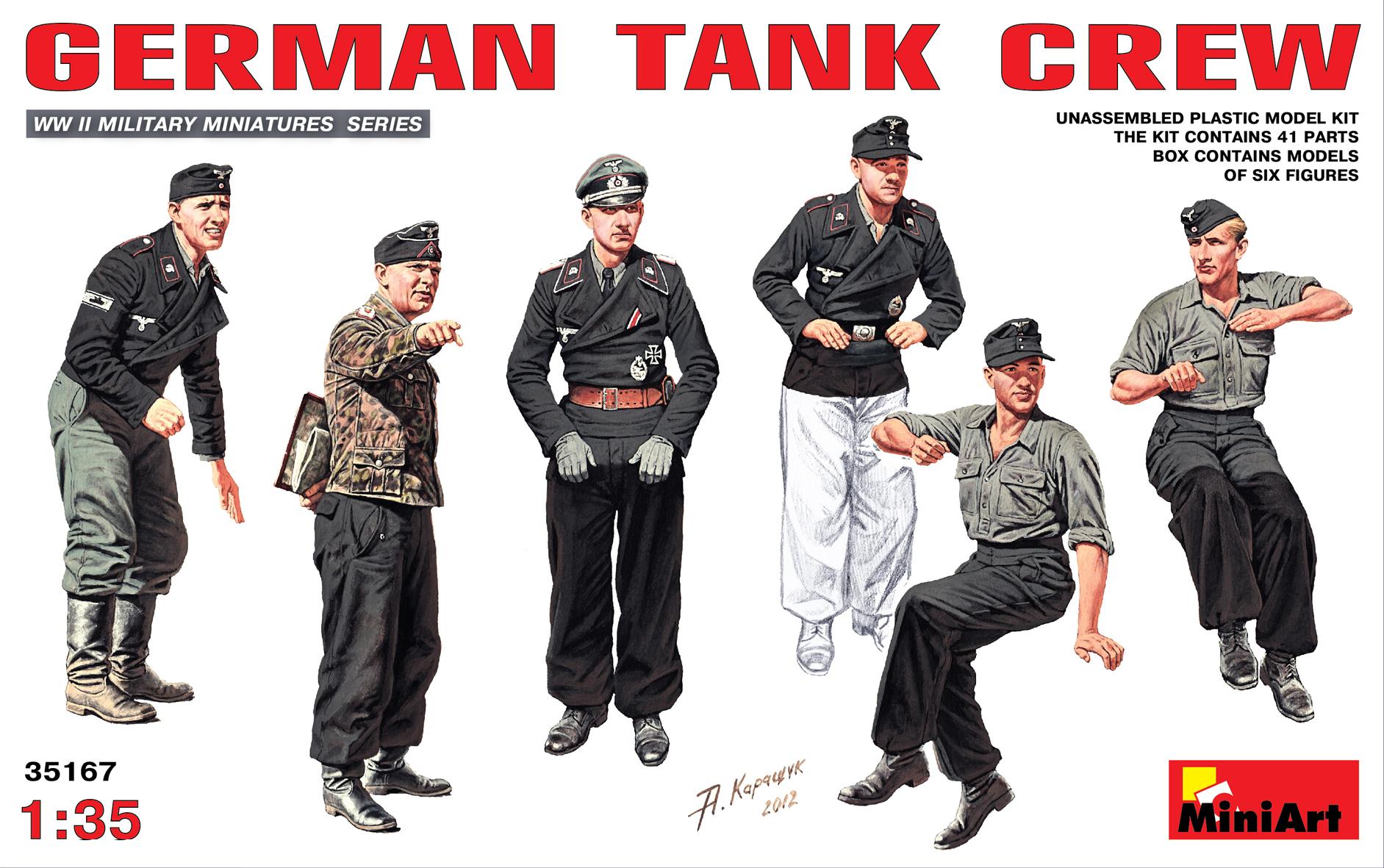 35167 GERMAN TANK CREW