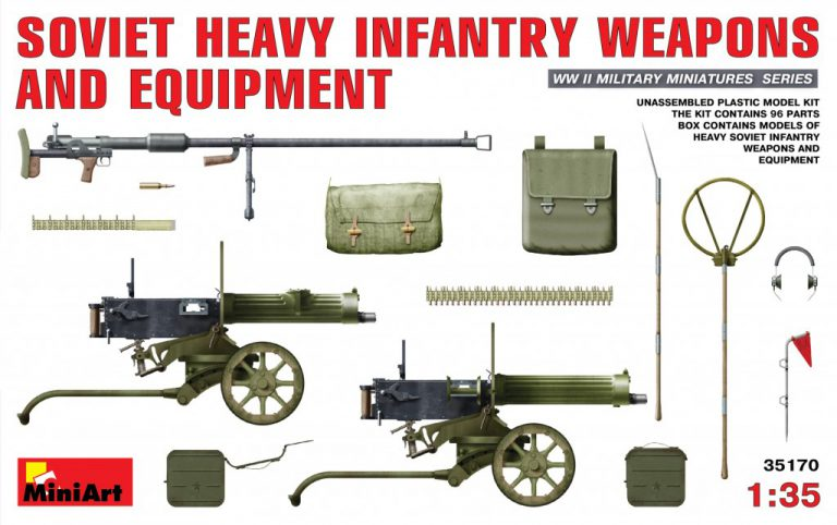 35170 SOVIET HEAVY INFANTRY WEAPONS AND EQUIPMENT