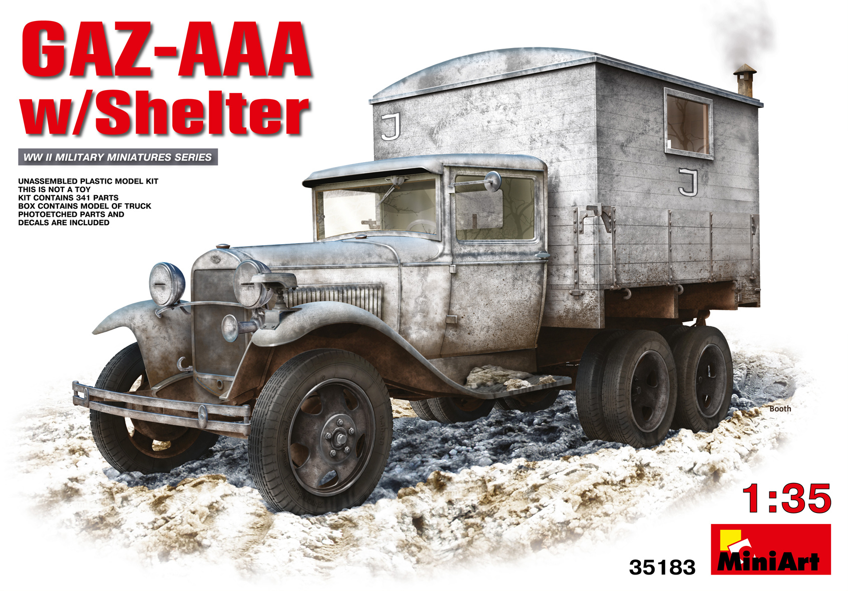 35183 GAZ-AAA mit SCHUTZ