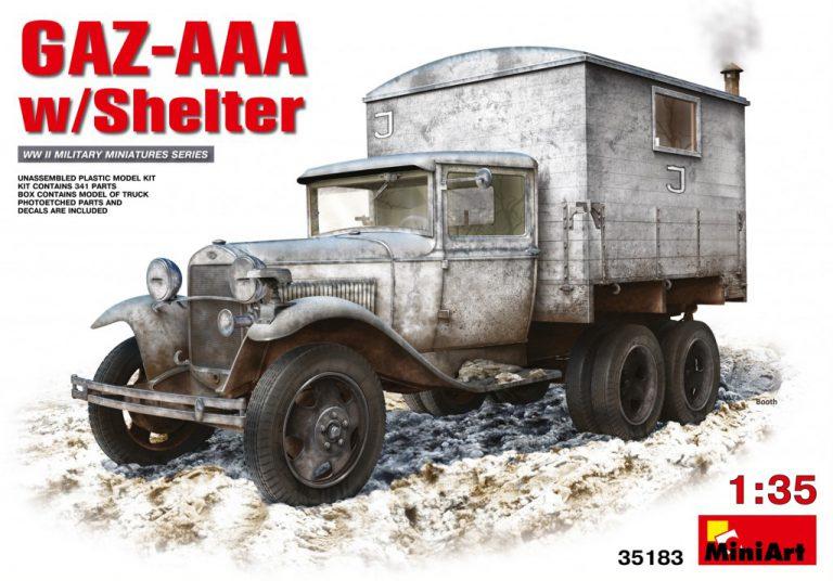 35183 GAZ-AAA シェルター付