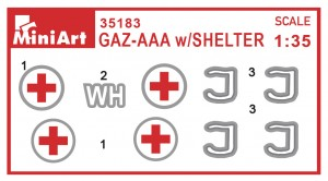 Content box 35183 GAZ-AAA w/Shelter